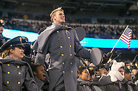 Baltimore, MD - December 10, 2016: The Army Cadets celebrate during game between Army and Navy at  M&T Bank Stadium in Baltimore, MD.   (Photo by Elliott Brown/Media Images International)