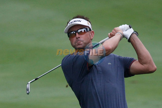 Robert Allenby (AUS) on the 10th on day 3 of the World Golf Championship Bridgestone Invitational, from Firestone Country Club, Akron, Ohio. 6/8/11.Picture Fran Caffrey www.golffile.ie