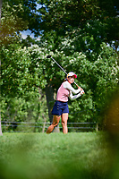 Chella Choi (KOR) watches her tee shot on 16 during Saturday's round 3 of the 2017 KPMG Women's PGA Championship, at Olympia Fields Country Club, Olympia Fields, Illinois. 7/1/2017.<br /> Picture: Golffile | Ken Murray<br /> <br /> <br /> All photo usage must carry mandatory copyright credit (&copy; Golffile | Ken Murray)