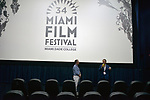 MIAMI, FL - MARCH 04: Thomas powers and Owsley Brown attend the Miami Film Festival screening for 'Serenade for Haiti' at Regal South Beach on March 4, 2017 in Miami, Florida.  ( Photo by Johnny Louis / jlnphotography.com )