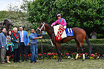 HOT SPRINGS, AR - APRIL 14: Oaklawn Handicap. Oaklawn Park on April 14, 2018 in Hot Springs,Arkansas. #11 City Of Light with jockey Drayden Van Dyke  (Photo by Ted McClenning/Eclipse Sportswire/Getty Images)