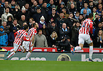Marko Arnautovic celebrates following the first goal of the game - Football - Barclays Premier League - Stoke City vs Manchester City - Britannia Stadium Stoke - December 5th 2015 - Season 2015/2016 - Photo Malcolm Couzens/Sportimage