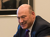 Trump advisor Gary Cohn is seen at a meeting of technology leaders in the Trump Organization conference room at Trump Tower in New York, NY, USA on December 14, 2016. <br /> Credit: Albin Lohr-Jones / Pool via CNP