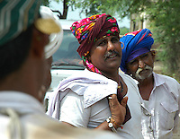 Maldhari men look more like pirates than shepherds..Michael Benanav - mbenanav@gmail.com