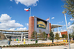 The new Baylor Stadium before the game between the Southern Methodist Mustangs and the Baylor Bears at the McLane Stadium in Waco, Texas.