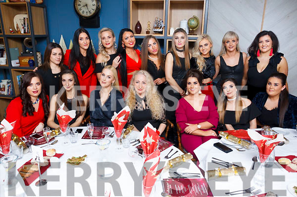 House of Glamour, Tralee staff enjoying their Xmas party in Benners Hotel  on Saturday evening.