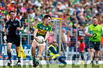 Adam Donoghue Kerry in action against  Clare in the Munster Minor Football Final at Fitzgerald Stadium on Sunday.