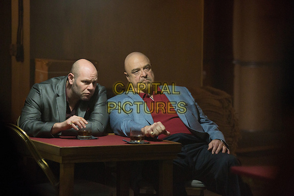Domenick Lombardozzi, John Goodman<br /> in The Gambler (2014) <br /> *Filmstill - Editorial Use Only*<br /> CAP/FB<br /> Image supplied by Capital Pictures