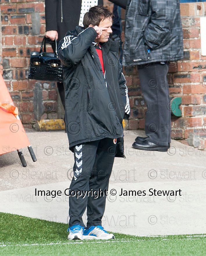 Stenny manager Scott Booth.