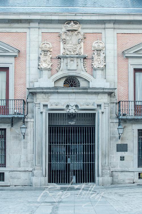 Spain, Madrid, Plaza de la Villa, Casa de la Villa