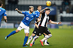 St Mirren v St Johnstone&hellip;26.12.18&hellip;   St Mirren Park    SPFL<br />Adam Hammill is fouled by Richard Foster<br />Picture by Graeme Hart. <br />Copyright Perthshire Picture Agency<br />Tel: 01738 623350  Mobile: 07990 594431
