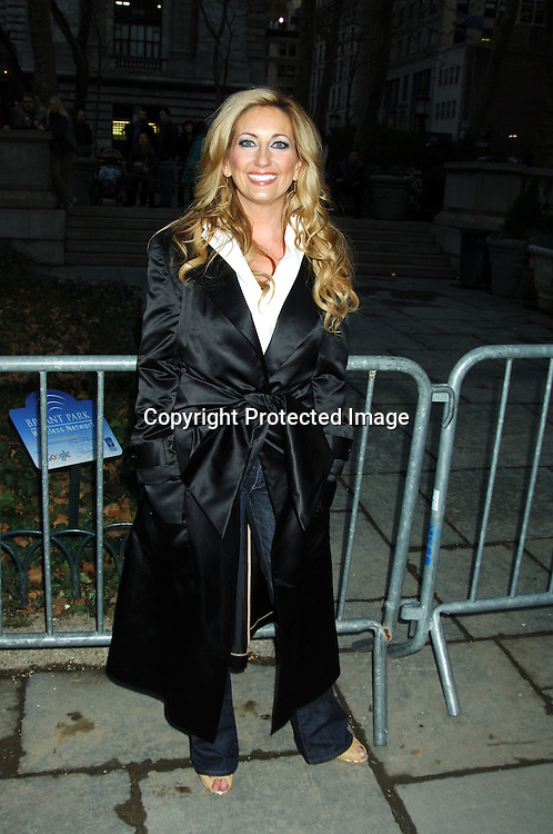 Lee Ann Womack ..at The Heart Truth's  Red Dress Fashion Show on ..February 3, 2006 at Olympus Fashion Week. ..Photo by Robin Platzer, Twin Images