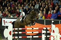 ZUIDBROEK - Paardensport, ICCH Zuidbroek, springen internationaal Grote Prijs , 05-01-2019, Sabrine van Rijswijk met Everest-W in de barrage