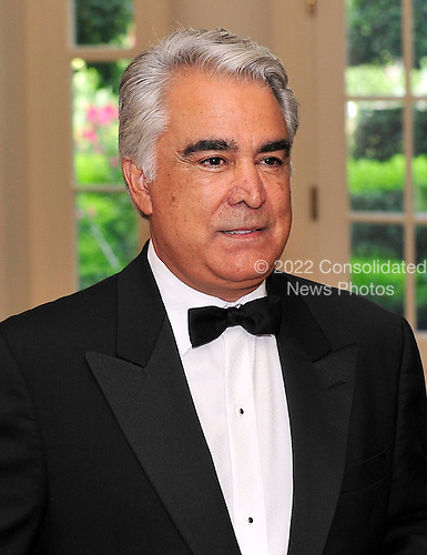Antonio M. Perez, Chairman and Chief Executive Officer, Eastman Kodak Company, arrives for a State Dinner in honor of Chancellor Angela Merkel of Germany at the White House in Washington, D.C.  on Tuesday, June 7, 2011.Credit: Ron Sachs / CNP