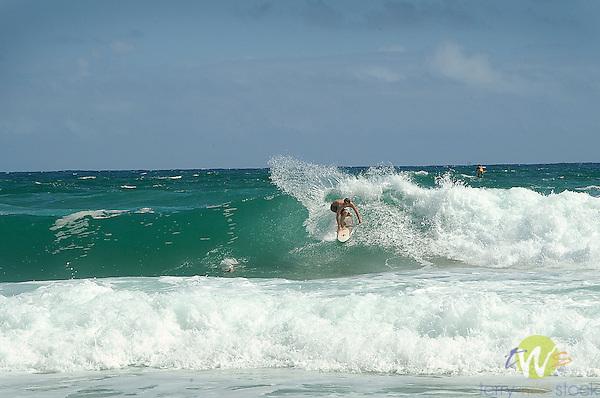 Wailua beach.