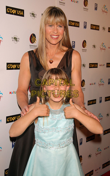(January 22, 2008 - New York, NY)..Terri Irwin and Bindi Irwin.Photo by: Tom Lau/Loud & Clear.G'Day USA: Australia Week 2008 - Wildlife Warriors benefit dinner.at Frederick P. Rose Hall, Home of Jazz@Lincoln Center...Loud & Clear Media, Inc..646-831-9112.loudandclear@usa.com