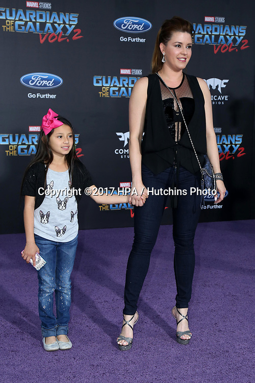 """LOS ANGELES - APR 19:  Dinorah Valentina Hernandez, Alicia Machado at the """"Guardians of the Galaxy Vol. 2"""" Los Angeles Premiere at the Dolby Theater on April 19, 2017 in Los Angeles, CA"""
