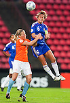 Sylvia Smit, Sandrine Soubeyrand, QF, Holland-France, Women's EURO 2009 in Finland, 09032009, Tampere, Ratina Stadium.