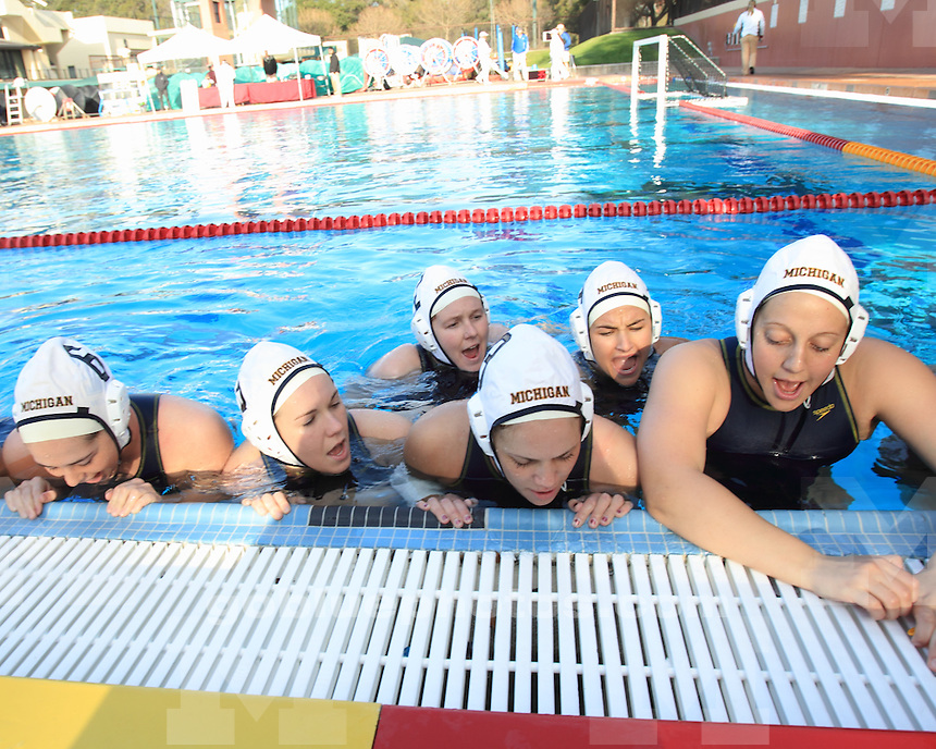 The University of Michigan's women's water polo team lost 10-2 to No. 4 UCLA in the Stanford Invitational at Palo Alto, Calif., on February 5, 2012