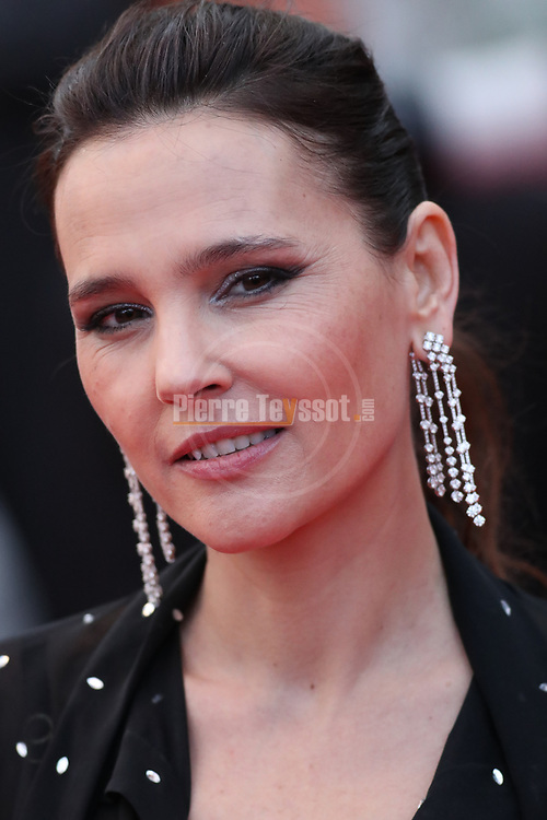 """Cannes Film Festival 2018 - 71st edition - Day 7 - May 14 in Cannes, on May 14, 2018; Screening of the film """"BlacKkKlansman"""";   Virginie Ledoyen. © Pierre Teyssot / Maxppp"""