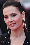 "Cannes Film Festival 2018 - 71st edition - Day 7 - May 14 in Cannes, on May 14, 2018; Screening of the film ""BlacKkKlansman"";   Virginie Ledoyen. © Pierre Teyssot / Maxppp"