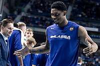 Kevin Seraphin of FC Barcelona Lassa during Turkish Airlines Euroleague match between Real Madrid and FC Barcelona Lassa at Wizink Center in Madrid, Spain. December 13, 2018. (ALTERPHOTOS/Borja B.Hojas) /NortePhoto.com
