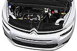 High angle engine detail of a 2013 Citroen GRAND C4 PICASSO Intensive 5 Door Minivan 2WD