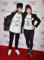 BEVERLY HILLS, CA - FEBRUARY 04: Diane Warren (L) and Frances Fisher attend the 18th Annual AARP The Magazine's Movies For Grownups Awards at the Beverly Wilshire Four Seasons Hotel on February 04, 2019 in Beverly Hills, California.<br /> CAP/ROT/TM<br /> &copy;TM/ROT/Capital Pictures
