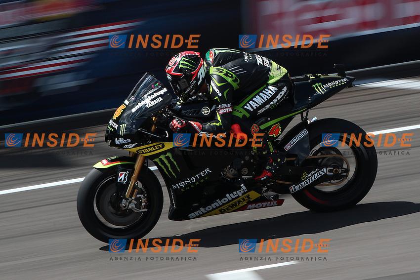 .17-08-2012 Indianapolis (USA).Motogp - motogp.in the picture: Andrea Dovizioso - Yamaha tech3 .Foto Semedia/Insidefoto