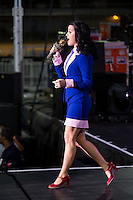LAS VEGAS, NV - October 24:  Katy Perry performs at Barack Obama and Katy Perry Block Party at Doolittle Park on October 24, 2012 in Las Vegas, Nevada.  Photo by: Kabik/Starlitepics/MediaPunch Inc. /NortePhoto