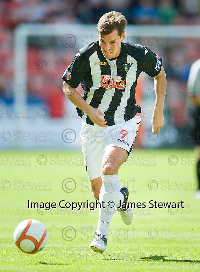 Andy Barrowman - Dunfermline AFC.