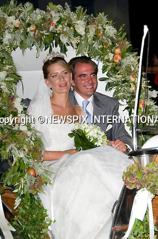 "PRINCE NIKOLAOS AND TATIANA BLATNIK_.The Wedding of Prince Nikolaos and Tatiana Blatnik attended by many members of European Royalty at St Nikolaos Church on the Island of Spetses_Grecce_24/08/2010.Mandatory Credit Photo: ©DIAS-NEWSPIX INTERNATIONAL..**ALL FEES PAYABLE TO: ""NEWSPIX INTERNATIONAL""**..IMMEDIATE CONFIRMATION OF USAGE REQUIRED:.Newspix International, 31 Chinnery Hill, Bishop's Stortford, ENGLAND CM23 3PS.Tel:+441279 324672  ; Fax: +441279656877.Mobile:  07775681153.e-mail: info@newspixinternational.co.uk"