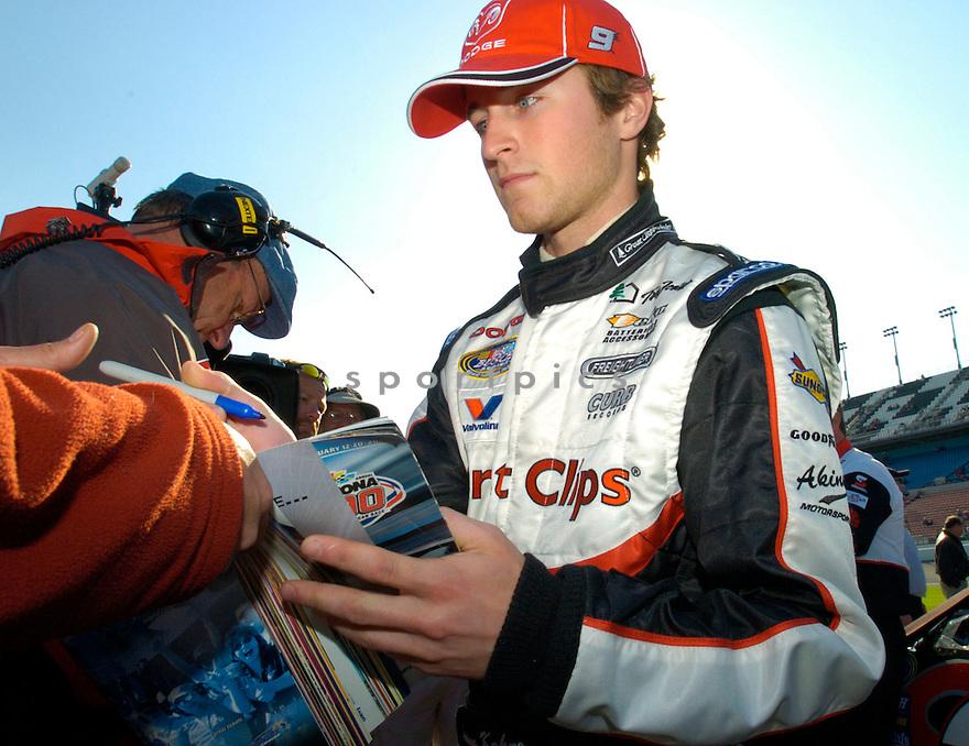 Kasey Kahne during the 2005 Daytona 500...David Durochik / SportPics