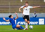 Kim Kulig, Giulia Domenichetti, QF, Germany-Italy, Women's EURO 2009 in Finland, 09042009, Lahti Stadium.