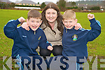 Tomas and Seamus Connolly, Killarney who will appear on RTE's Irelands Got Talent on Sunday evening, pictured with their mother Maggie on Tuesday.