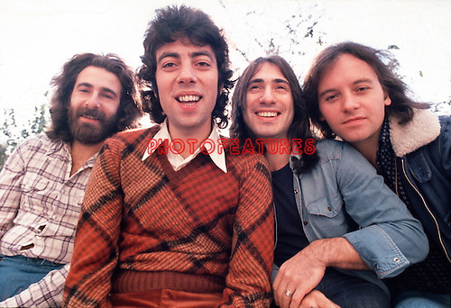 10cc 1973 Kevin Godley, Graham Gouldman, Lol Creme and Eric Stewart<br /> &copy; Chris Walter
