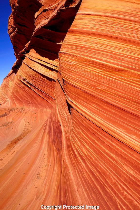 """Photos from """"The Wave"""" Buckskin Gulch Arizona."""