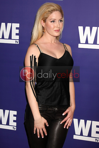 """Heidi Montag<br /> at the WE tv Presents """"The Evolution of Relationship Reality Shows,"""" Paley Center for Media, Beverly Hills, CA 03-19-14<br /> Dave Edwards/DailyCeleb.com 818-249-4998"""
