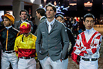 Riders compete at the HKJC 130th Anniversary Races of the Riders during the Longines Hong Kong Masters 2015 at the AsiaWorld Expo on 13 February 2015 in Hong Kong, China. Photo by Xaume OIleros / Power Sport Images