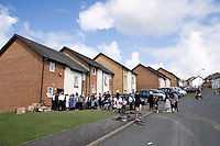 Hasidic families stay in Pentre Jane Morgan university accommodation when they holiday in Aberystwyth. Every other day, bread, milk and other supplies are brought from Kosher shops in London and resold from one of the rented houses on the campus.