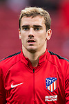 Antoine Griezmann of Atletico de Madrid warms up prior to the La Liga 2017-18 match between Atletico de Madrid and Girona FC at Wanda Metropolitano on 20 January 2018 in Madrid, Spain. Photo by Diego Gonzalez / Power Sport Images
