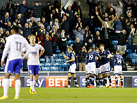 GOAL - Ryan Tunnicliffe of Millwall scores the second goal during the Sky Bet Championship match between Millwall and Birmingham City at The Den, London, England on 21 October 2017. Photo by Carlton Myrie.