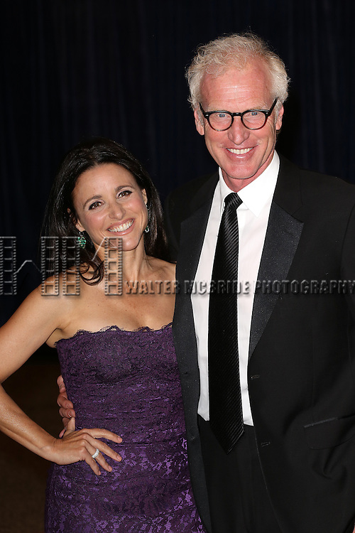 Julia Louis-Dreyfus & Brad Hall  attending the  2013 White House Correspondents' Association Dinner at the Washington Hilton Hotel in Washington, DC on 4/27/2013