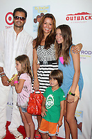 CULVER CITY, CA - AUGUST 12:  David Charvet and Brooke Burke Charvet at the 3rd Annual My Brother Charlie Family Fun Festival at Culver Studios on August 12, 2012 in Culver City, California.  Credit: mpi26/MediaPunch Inc.