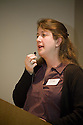 Jeannine Larabee, Santa Clara Valley Water District. This forum entitled Strategies for a Sustainable Santa Clara County: Developing Goals and Planning Tools was held at the Silicon Valley Community Foundation (SVCF) in Mountain View, CA from 9 AM to Noon on 1/25/2008. The event was sponsored by Leagues of Women Voters of Santa Clara County and Office of County Supervisor Liz Kniss.