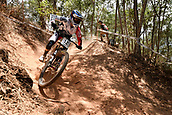 7th September 2017, Smithfield Forest, Cairns, Australia; UCI Mountain Bike World Championships; Amaury Pierron (FRA) from COMMENCAL - LAC BLANC during downhill practice