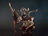 Terra Incognita<br /> by Shobana Jeyasingh <br /> Music by Gabriel Prokofiev<br /> Designed by Jean-Marc Puissant <br /> Lighting by Lucy Carter <br /> Rambert Dance at Sadler's Wells, London, Great Britain <br /> 18th November 2014 <br /> rehearsal <br /> <br /> Luke Ahmet <br /> <br /> Adam Blyde<br /> <br /> Dane Hurst <br /> <br /> Adam park <br /> <br /> Pierre Tappon<br /> <br /> Lucy Balfour <br /> <br /> Carolyn Bolton <br /> <br /> Simone Damburg Wurtz<br /> <br /> Vanessa King <br /> <br /> Hannah Rudd<br /> <br /> <br /> Photograph by Elliott Franks <br /> Image licensed to Elliott Franks Photography Services