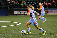 Rochester, NY - Saturday Aug. 27, 2016: Morgan Brian during a regular season National Women's Soccer League (NWSL) match between the Western New York Flash and the Houston Dash at Rochester Rhinos Stadium.