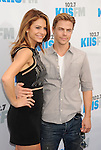 CARSON, CA - MAY 12: Maria Menounos and Derek Hough attend 102.7 KIIS FM's Wango Tango at The Home Depot Center on May 12, 2012 in Carson, California.
