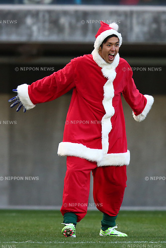 Yoshinori Muto (JAPAN Stars),<br /> DECEMBER 14, 2014 - Football / Soccer : <br /> JPFA CHARITY SOCCER 2014 <br /> match between TOHOKU Dreams 12-8 JAPAN Stars <br /> at Yurtec Stadium Sendai in Miyagi, Japan.<br /> (Photo by Shingo Ito/AFLO SPORT) [1195]